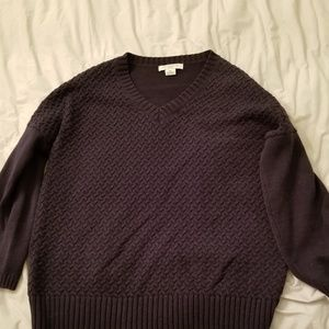 Navy Liz Claiborne sweater